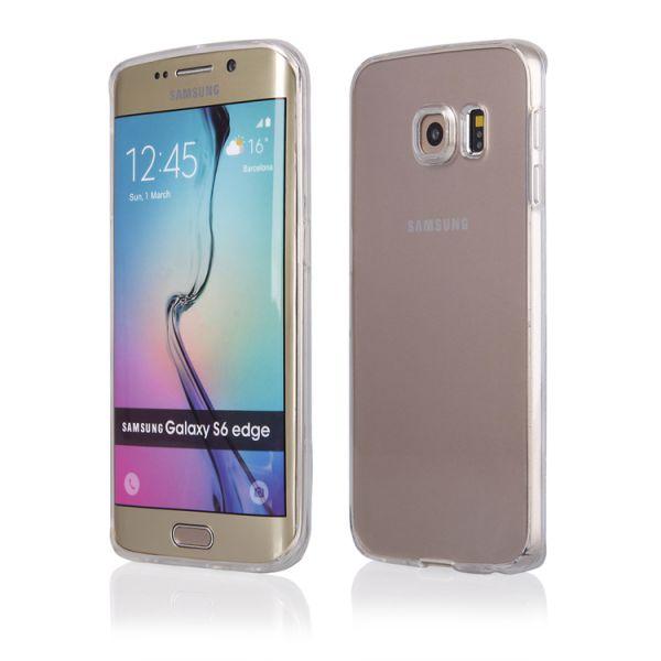 """Schutzhülle """"Clear"""" für Samsung S6 Edge Plus"""